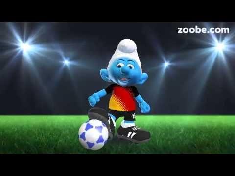 Zoobe Fussballschlumpf Wunscht Alles Gute Zum Geburtstag Youtube