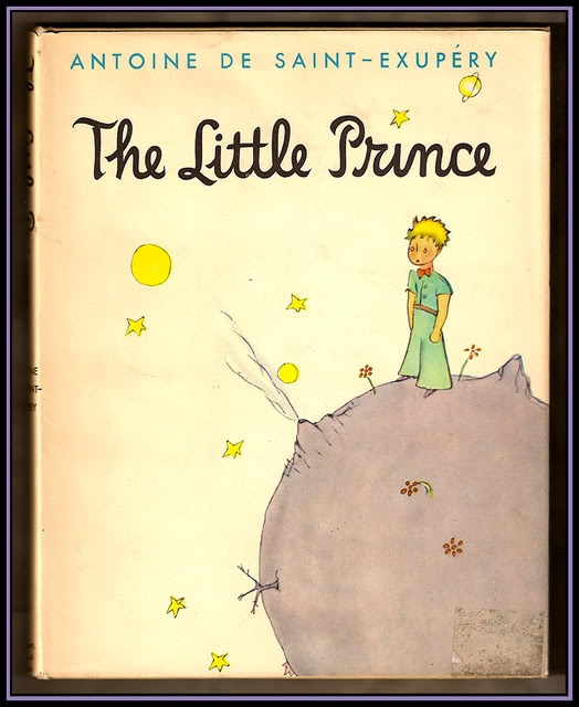 Antoine de Saint-Exupéry, The Little Prince. Such a good one!  Will definitely be sharing this one with the kids someday.