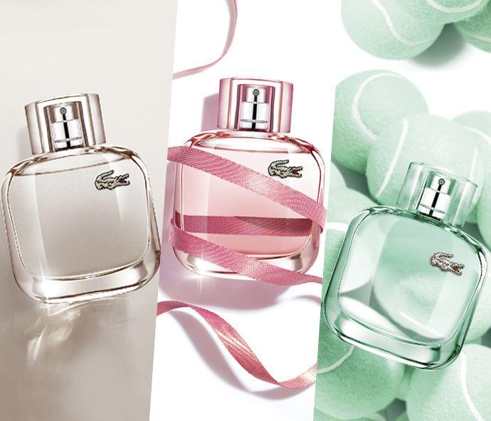 Lacoste Eau de Lacoste L.12.12 Pour Elle - Three new fragrances: Elegant, Sparkling and Natural