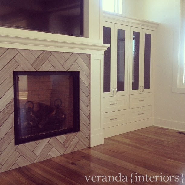 Tile Fireplace Surrounds On Pinterest Fireplace Tiles Fireplaces
