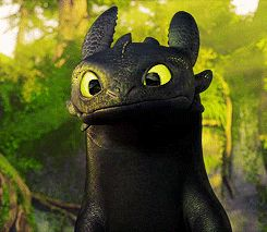 Krokmou dans le film: How to train your Dragon #krokmou #thothless