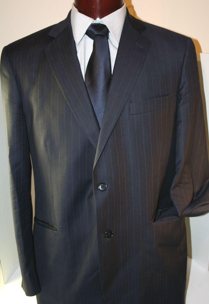 Brooks Brothers Madison Mens Blazer Suit Sport Jacket Coat Italy Wool Size 42R #brooks brothers #blazers