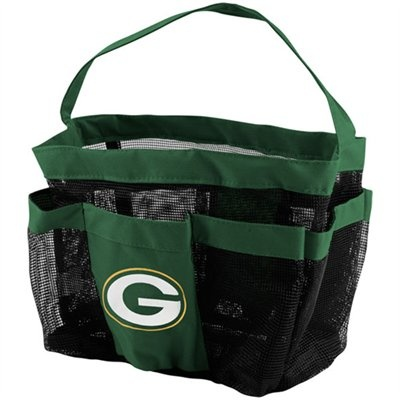 Green Bay Packers Mesh Shower Tote  Perfect for college students! www.achillesmed.com: College Students, Wave Ideas, Shower Tote, College Dorm, Tote Perfect, Green Bay Packers, Mesh Shower