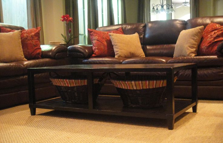 Decorating With Dark Living Room Leather Furniture