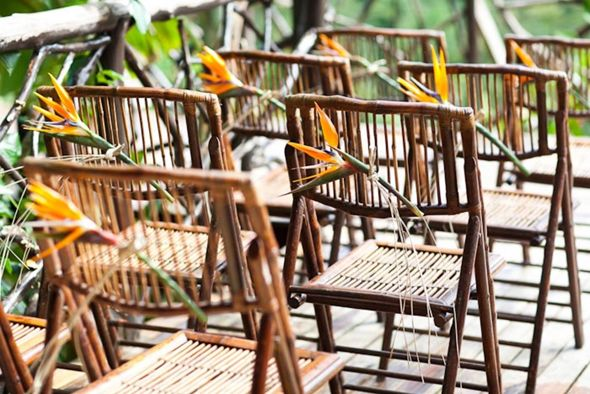 destination wedding chairs Costa Rica Destination Wedding at Mountain Paradise Hotel