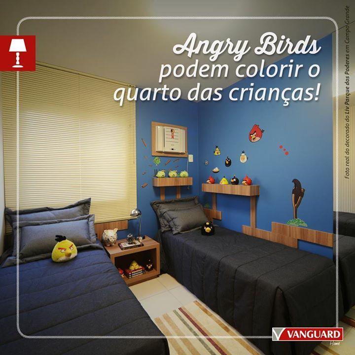 Modelo Quarto Angry Birds