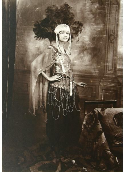 Likely from one of A'Lelia Walker's fabulous Harlem parties in the 1920s