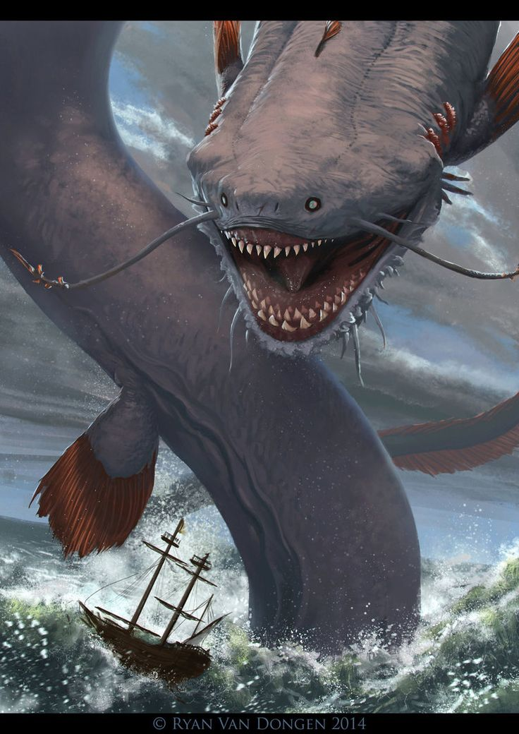 Best 25+ Sea monsters ideas on Pinterest | Mythical sea ... Wayne Barlowe Expedition 2