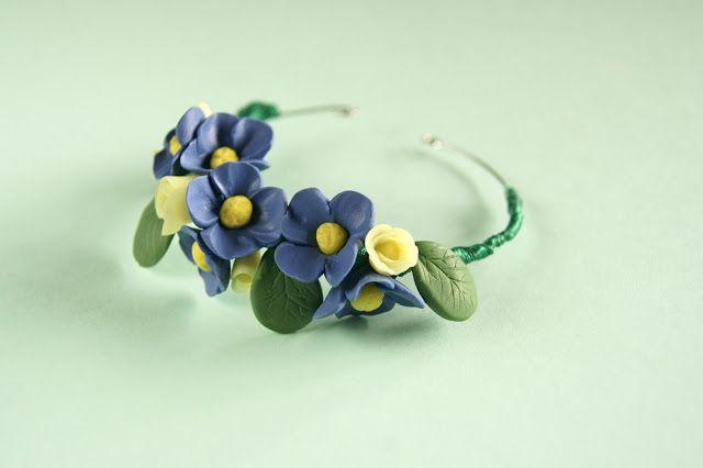 floral crown bracelet