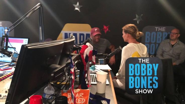 Tim McGraw gets a surprise visit from his wife during his Bobby Bones Show interview