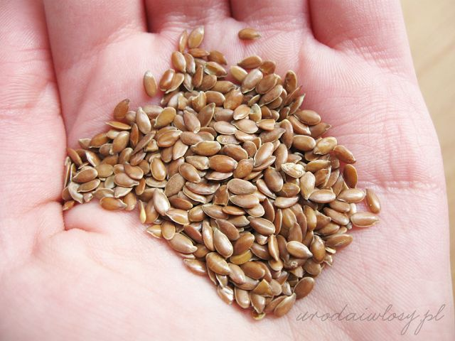 Płukanka z siemienia lnianego idealnie podkreślająca naturalne loki