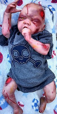Reborn Walking Dead Zombie Baby Creepy and Cuddly | eBay