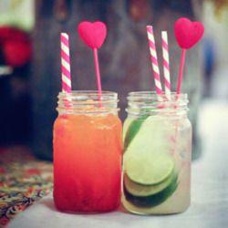 Jam jar cocktails