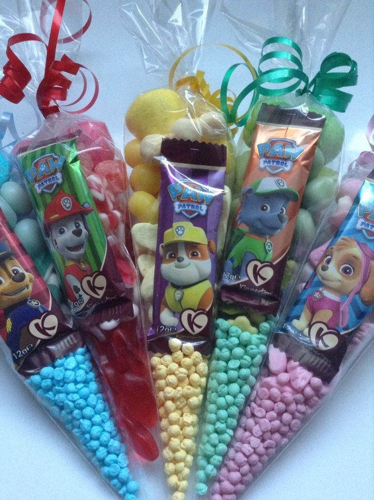 New Paw Patrol Large Pre Filled Sweet Cones Birthday Party Bags in Home, Furniture & DIY, Celebrations & Occasions, Party Supplies | eBay!
