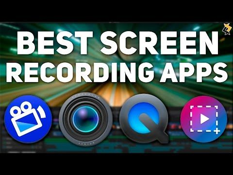 Best Screen Recording Apps for Mac for 2016 - Top 5 - YouTube