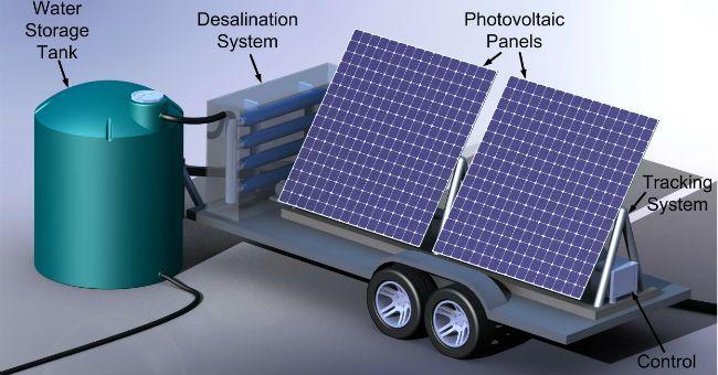Acqua potabile dal mare con il dissalatore a energia solare del MIT