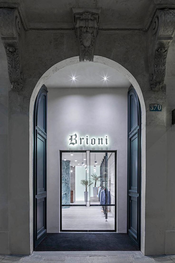 Dover street market store new york city retail design blog - Brioni S New Paris Flagship Store By David Chipperfield Architects Yellowtrace