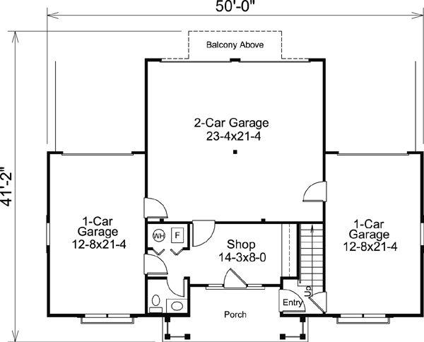 68 best garage apartments images on pinterest garage for 2 car garage apartment floor plans