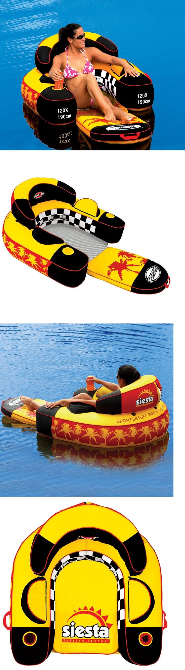 Inflatable Floats and Tubes 79801: River Rafting Float Lake Pool Tube Inflatable Lounge Chair Water Toy Swimming -> BUY IT NOW ONLY: $84.37 on eBay!