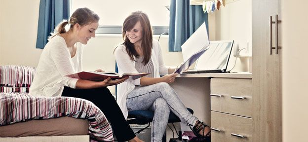 There are numerous accommodation options at Confetti, both privately and in halls of residence.