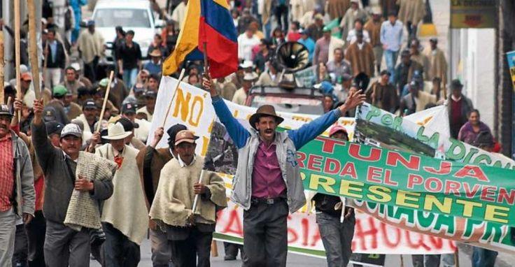 La Cumbre Agraria se toma Bogotá del 31 al 5 de Septiembre