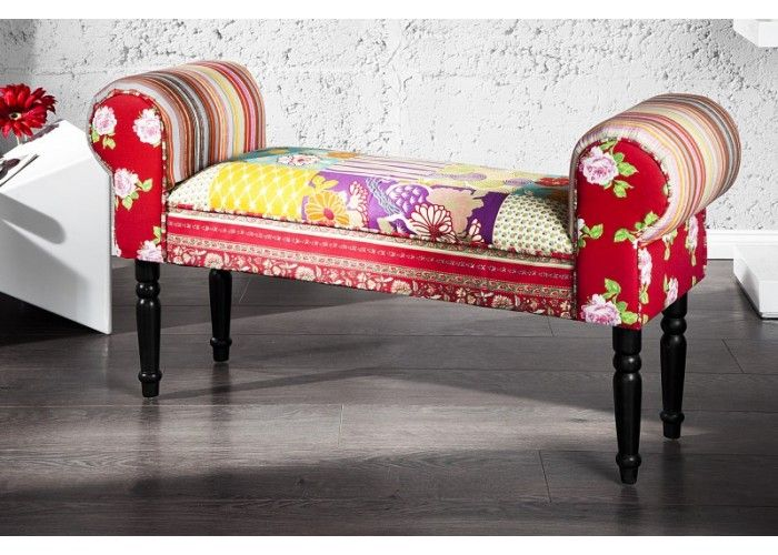 Ibiza bench  #colorfulfurniture #multicoloured #colors #interiordesign #homedecor #irenesworld #yourhome #yourplayground