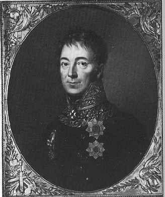 Karl Philipp Fürst von Wrede (1767 - 1838), bavarian Generalfeldmarschall, emissary of Bavaria during the Congress of Vienna. Date Unknown date
