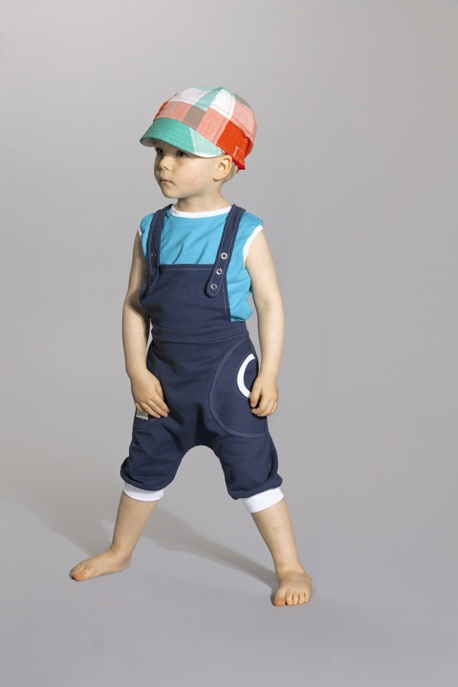 Summer overall made of finnish jersey.