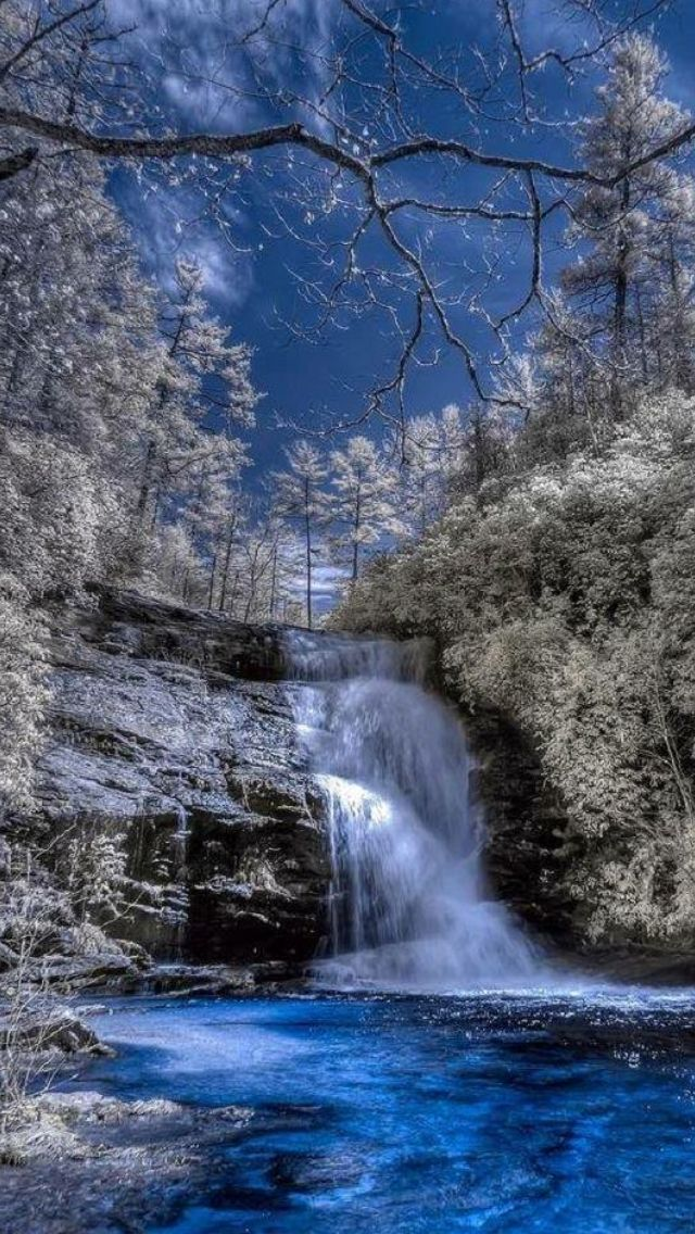 Secret Falls, Nantahala National Forest, Highlands, North Carolina, USA Photo By: Nature, Feelings, Emotions Source Facebook.com