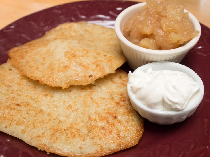 Potato Latkes, Homemade Applesauce, and the history of Hanukkah
