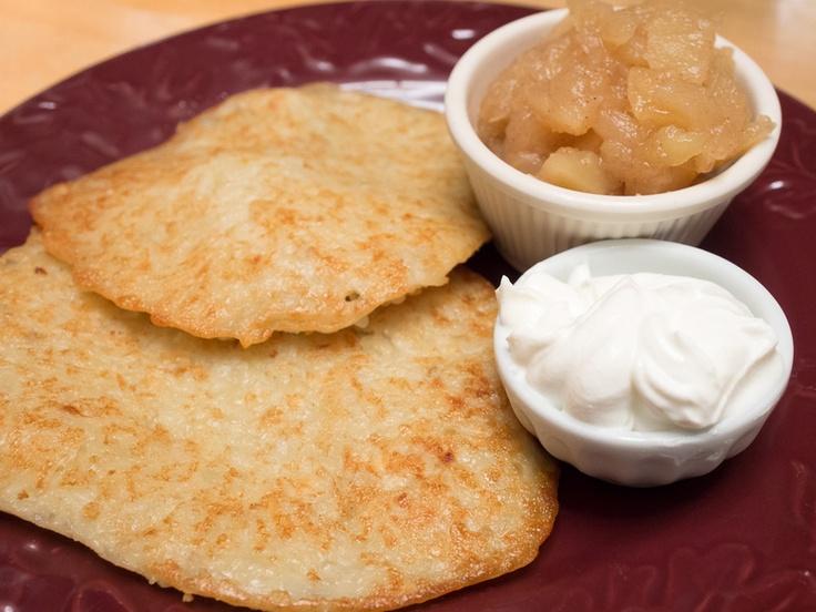 Potato Latkes, Homemade Applesauce, and the history of Hanukkah