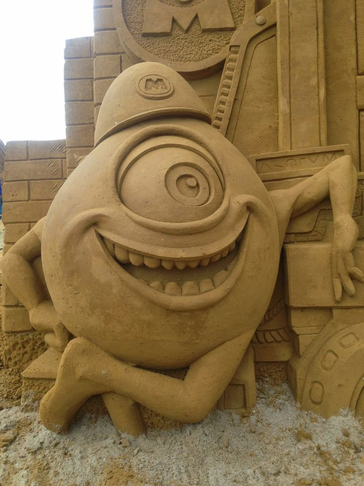Belgium or Bust: Carved From Sand: The Oostende Sand Sculpture Festival