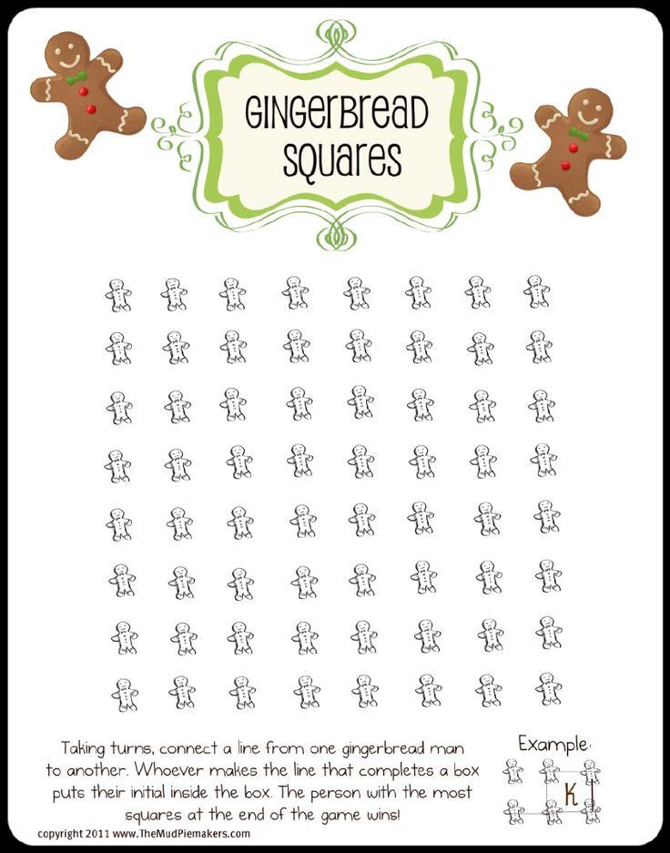 Gingerbread Squares | Room Mom Christmas | Pinterest
