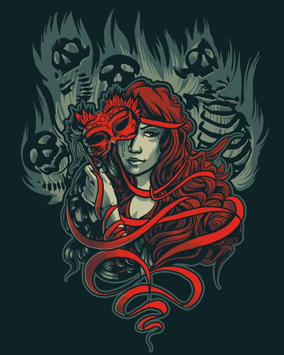 Masque of the Red Death by ~AlexandreaZenne