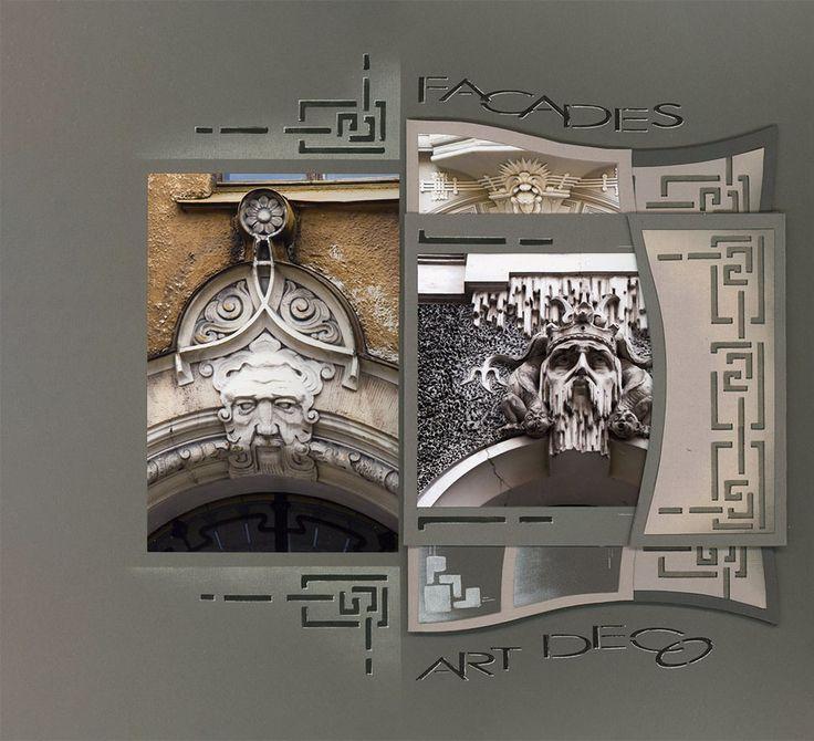 En me promenant dans les rues de Riga, j'étais loin de me douter que j'allais souvent m'arrêter, médusée par toutes ces façades Art Nouveau. Il fallait trouver une astuce pour placer les belles et nombreuses photos d'Alain, sans trop les découper! Il...