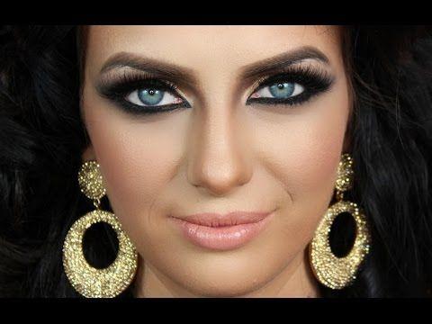 ▶ Arabic Makeup Epic Transformation - Artist of Makeup Tutorial ماكياج العربي - YouTube
