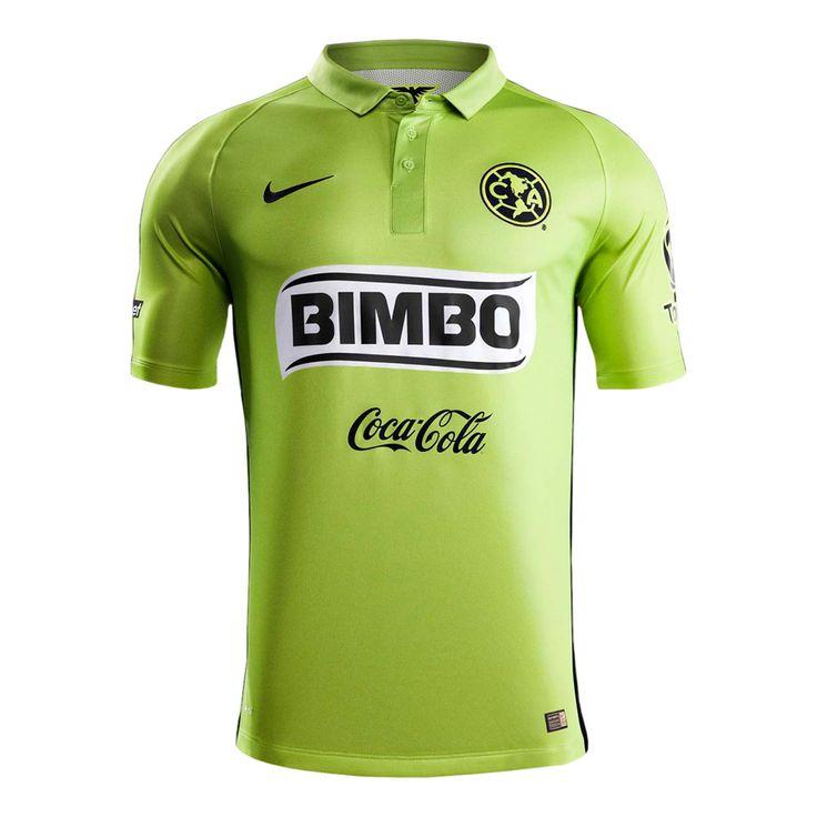 2c446fc89 ... Jersey 201617 Season Away Yellow Soccer Shirt E800 Club de Fútbol  América (Mexico) - 2015 Nike Third Shirt ...