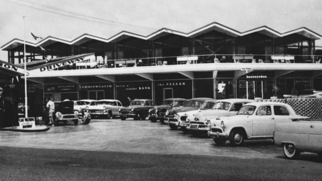 The old Chevron Hotel Gold Coast
