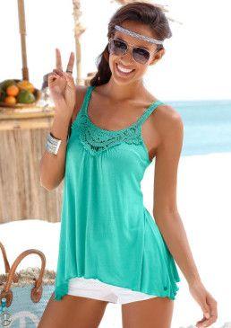 Plážový top, s.Oliver #avendro #avendrocz #avendro_cz #fashion ##tshirt