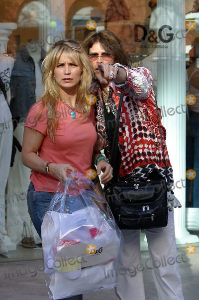 Steven Tyler's New Wife | Teresa Barrick Picture - Steven Tyler with his wife Teresa Barrick a ...