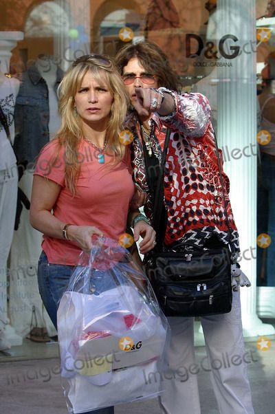 Steven Tyler's New Wife | Teresa Barrick Picture - Steven Tyler with his wife Teresa Barrick a ...