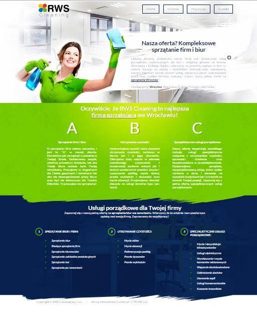 Sprzątanie Wrocław - RWSC, firma sprzątająca świadcząca usługi dla firm i biur.