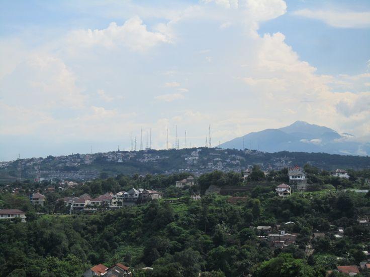 view at candi asri semarang indonesia