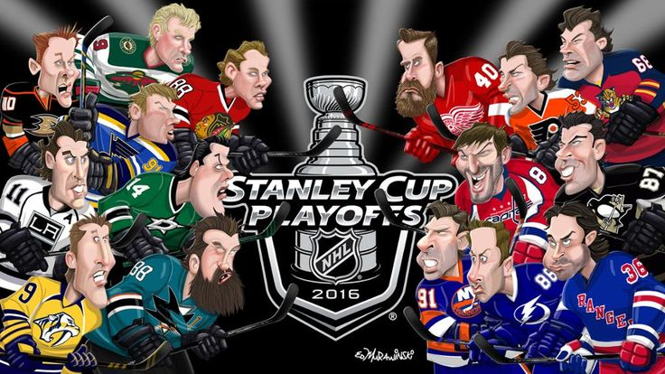 Because its the CUP!!! Stanley Cup playoffs - 2016