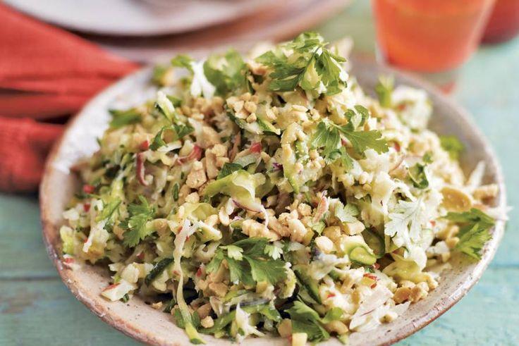 Kijk wat een lekker recept ik heb gevonden op Allerhande! Knapperige salade