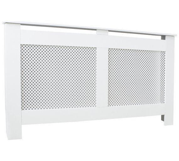 Buy HOME Odell Large Radiator Cover - White at Argos.co.uk, visit Argos.co.uk to shop online for Radiator covers, Home furnishings, Home and garden