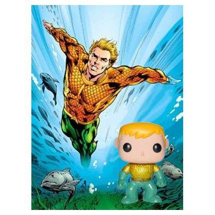 Funko Funko Pop! DC Aquaman new 52 Edition Limité geek suisse shop...