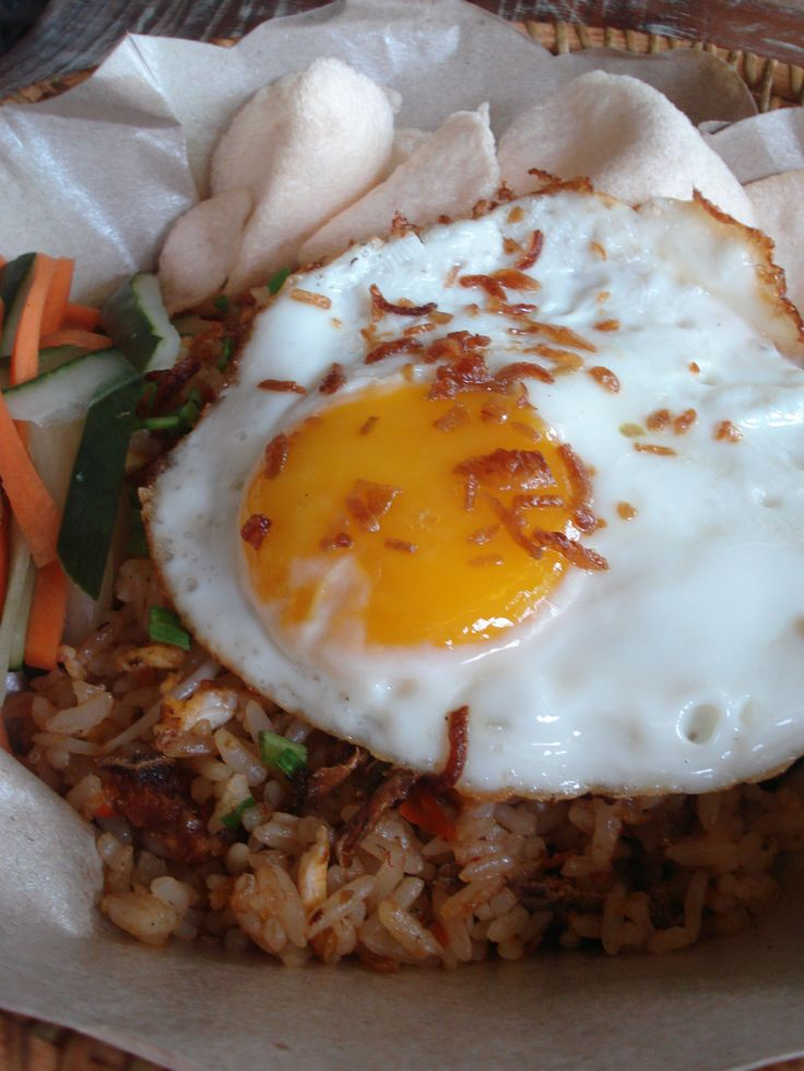 Nasi Goreng Ikan Asin - your choice of salted fish fried rice #bali #bar #restaurant #food #lunch #dinner #kuta #tuban #indonesia