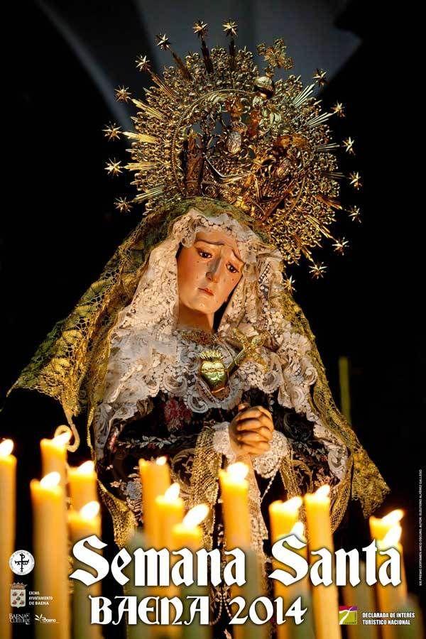 Hermandad de la Virgen de los Dolores - Miércoles Santo http://semanasantabaena.com.es/hermandad-de-la-virgen-de-los-dolores-miercoles-santo/