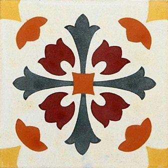 Adesivo para Azulejo Português Estilizado 16 peças